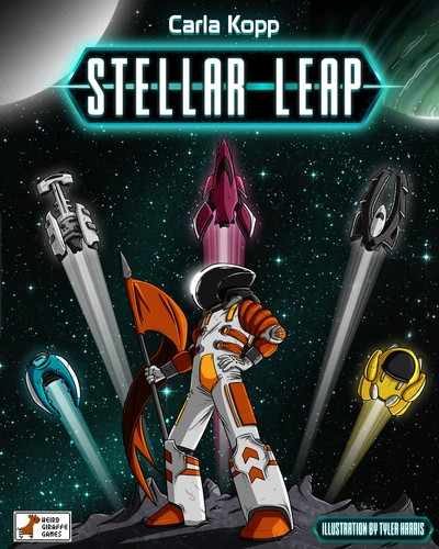 Pledge for Stellar Leap by Weird Giraffe Games on Kickstarter now! Only $39!
